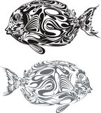 Fish. Ocean fish graphic style illustration Stock Image