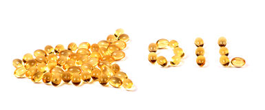 Fish oil Royalty Free Stock Photo
