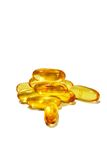 Fish Oil Capsules Royalty Free Stock Photography