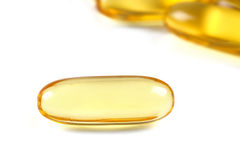 Fish Oil Capsules Royalty Free Stock Image