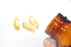 Fish Oil supplements II Stock Image