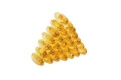Fish oil Stock Photo