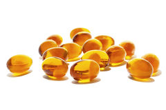 Fish oil Royalty Free Stock Photos