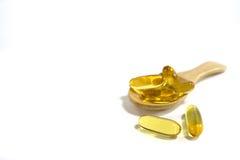 Fish oils Stock Image