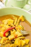 Fish organs sour soup Stock Image