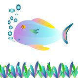 Fish painting Royalty Free Stock Photography