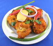 Fish pakora Stock Image