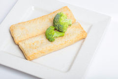 Fish paste cake and mochi for Japanese food ingredient image. Fish paste cake, the image is suitable for decoration of the restaurant , hotel , cafe, market Stock Image