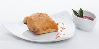 Fish pastry Stock Photography