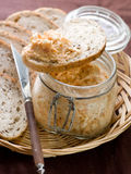 Fish Pate Royalty Free Stock Photography
