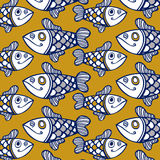 Fish pattern Royalty Free Stock Photography