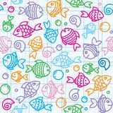 Fish pattern Stock Photos