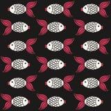 Fish pattern Stock Photos