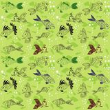 Fish pattern Royalty Free Stock Photo