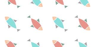 Fish pattern Stock Photo