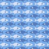 Fish pattern. Royalty Free Stock Photo