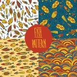 Fish pattern set Stock Photo