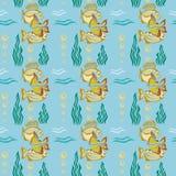 Fish pattern Stock Photography