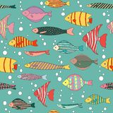 Fish pattern  stock illustration