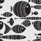 Fish with patterns Stock Photo