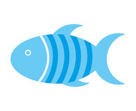 Fish pet isolated icon design. Illustration  graphic Stock Images