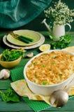 Fish pie Stock Image