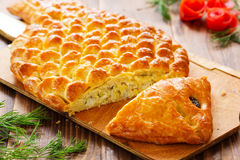Fish pie Royalty Free Stock Images