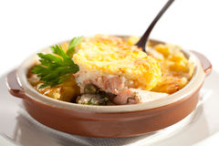 Fish Pie Stock Photography