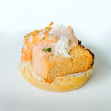 Fish pie pincho. Royalty Free Stock Images