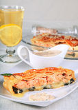 Fish pie Royalty Free Stock Photos