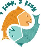 2 Fish Royalty Free Stock Photo