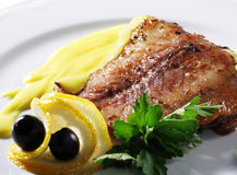 Fish Plate Stock Photos