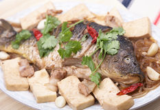 Fish plate Stock Photography