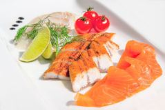A fish plate Royalty Free Stock Image