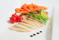 A fish plate Royalty Free Stock Photos