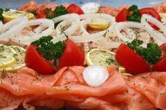 Fish platter Royalty Free Stock Photo