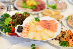 Fish Platter Stock Photo