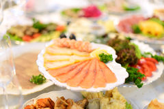 Fish Platter Stock Photography