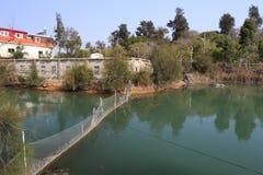 Fish ponds Stock Photos