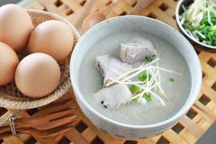 Fish Porridge Royalty Free Stock Image