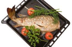 Fish prepared. Royalty Free Stock Photos