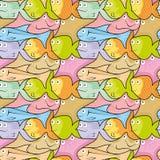 Fish puzzle vector illustration