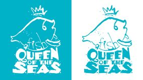 Fish - the queen of the seas. Stock Image