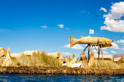 Fish of Reeds Royalty Free Stock Photography