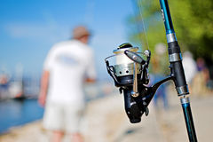 Fish reel Royalty Free Stock Images