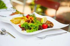 Fish restaurant Stock Photography