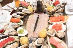 Fish restaurant Stock Photos