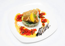Fish with rice Royalty Free Stock Images