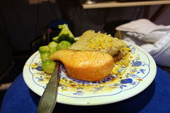 Fish with rice Stock Photos