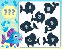 Fish riddle theme image 5 Royalty Free Stock Image